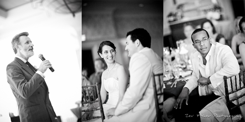 Ocean Edge Resort Wedding, Wedding Reception, Bride & Groom, Toast, Speech, B&W Wedding photography