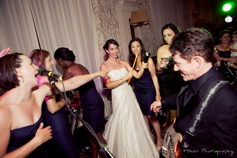 Ocean Edge Resort Wedding, Wedding Reception, Bride, Bridesmaids, Dancing
