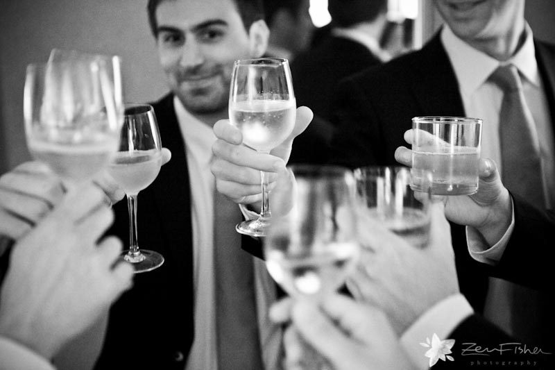 The Pierce House Wedding, Groomsmen, Bridal Party, Champagne Toast, Wedding Party, Boston Weddings