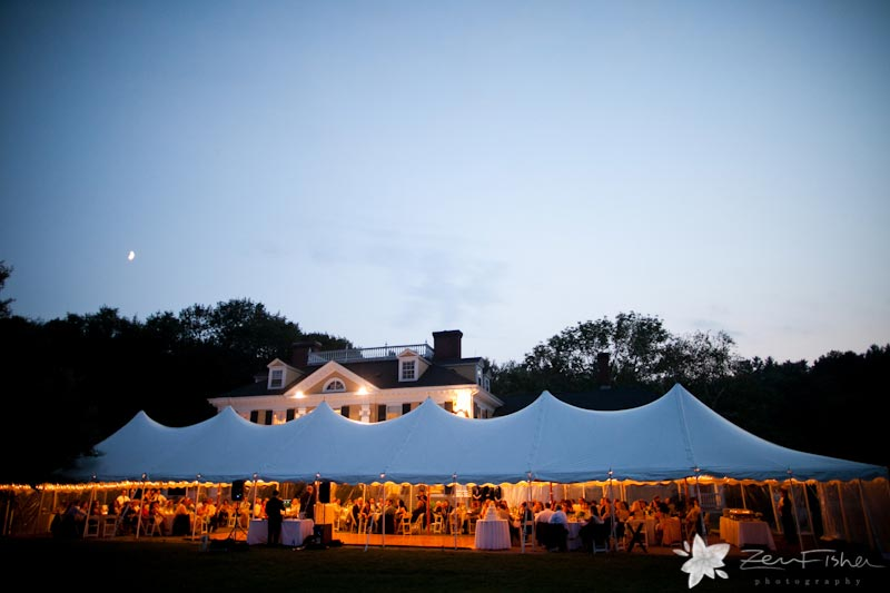 The Pierce House Wedding, Summer Wedding, Tent Wedding, Wedding Reception, Boston Weddings