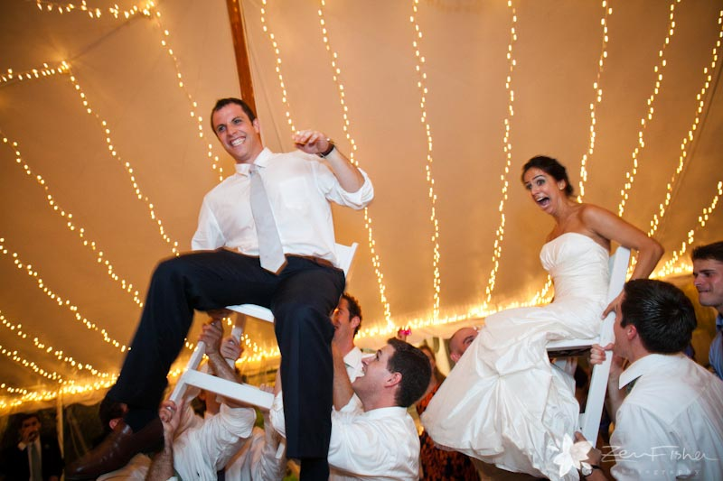 The Pierce House Wedding, Bride and Groom, Wedding Reception, Dancing, The Hora, Wedding Moments
