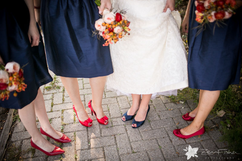 Red Lion Inn Wedding, Bride, Bridesmaids, Bridal Party, Bridal Shoes, Bridal Bouquets, Boston Bridal