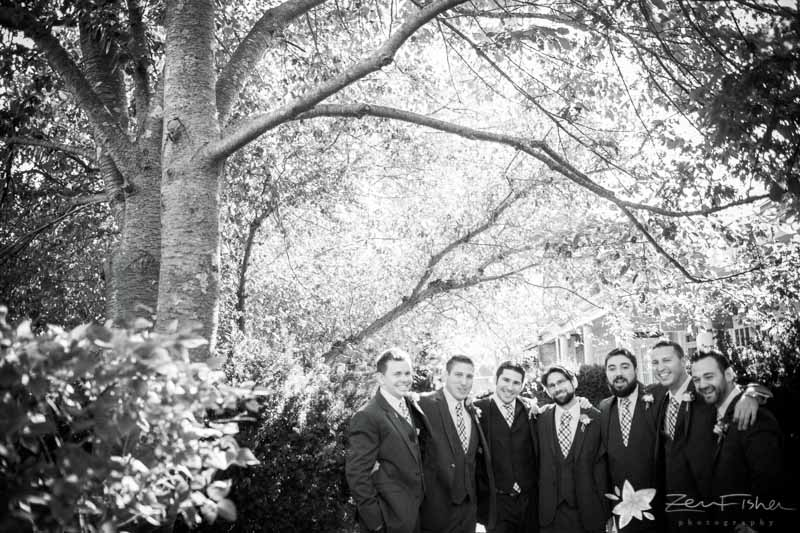 Red Lion Inn Wedding, Groom, Groomsmen, Bridal Party, Wedding Portraits, Boston Weddings