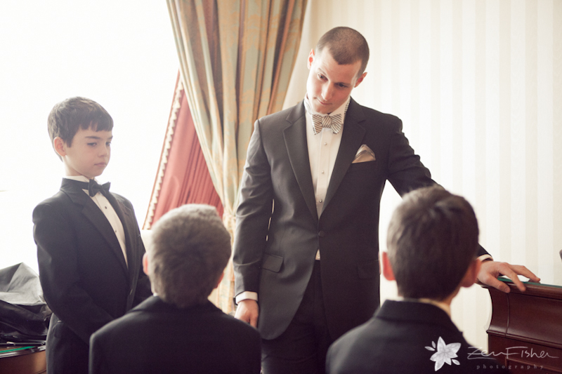 State Room Boston Wedding, Groomsmen, Bridal Party, Grooms Attire, Wedding Portraits, Ring bearer