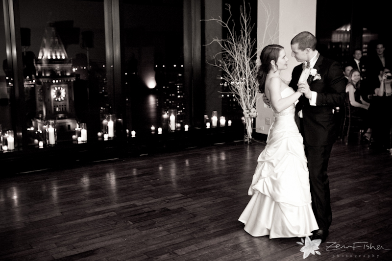 the state room boston wedding, reception, bride and groom, first dance, romantic wedding portraits