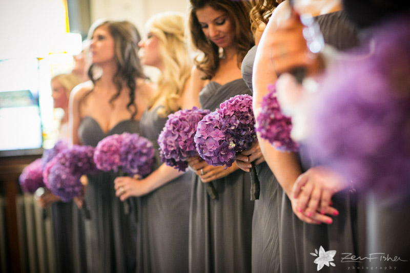 The State Room Boston Wedding, Sacred Heart Church Boston, Wedding Ceremony, bridesmaids bouquets