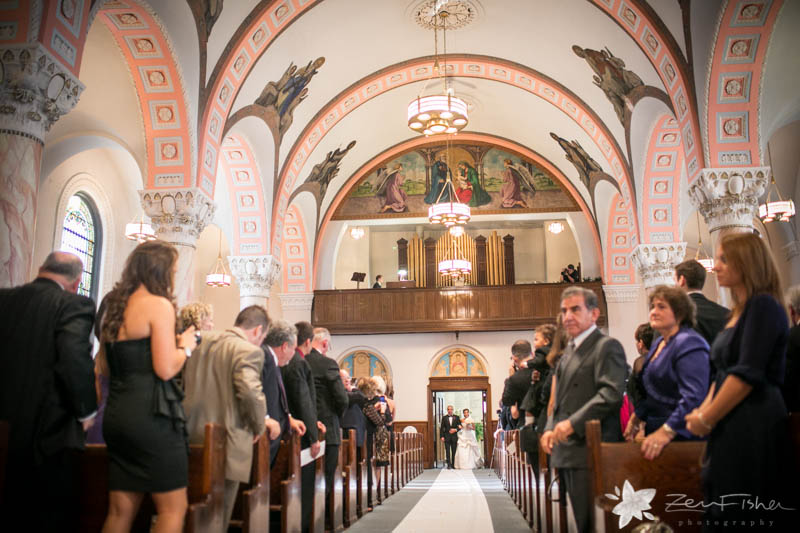 The State Room Boston Wedding, Sacred Heart Church Boston, Wedding Ceremony, Bridal debut