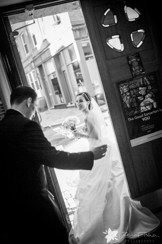 The State Room Boston Wedding, Sacred Heart Church Boston, Bride & Groom, Romantic Wedding Portrait