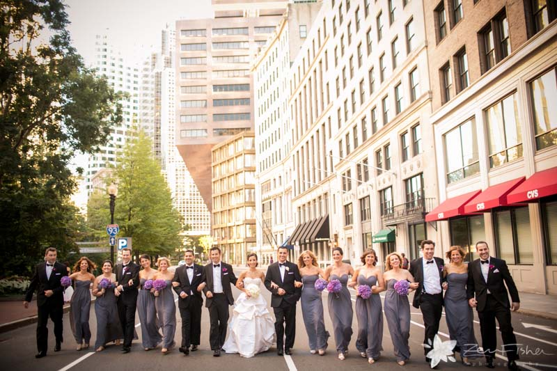 The State Room Boston Wedding, Groomsmen, Bridesmaids, bridal party, Wedding Portrait, Boston Bridal