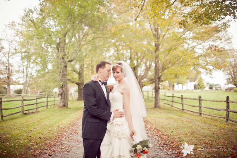 Tyrone Farm Wedding, Bride and Groom, Romantic Wedding Portrait, Connecticut Wedding, Farm Wedding