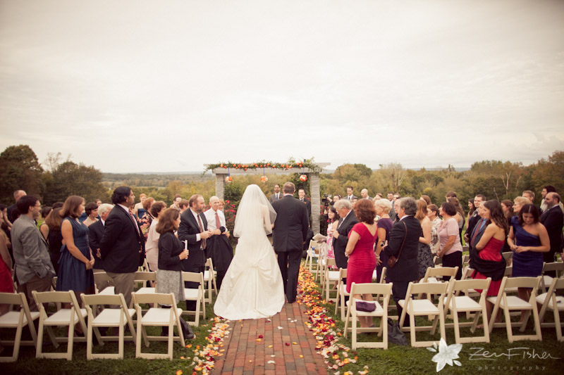 Tyrone Farm Wedding, Wedding Ceremony, Bride, Father of the Bride, Outdoor Ceremony, Farm Wedding