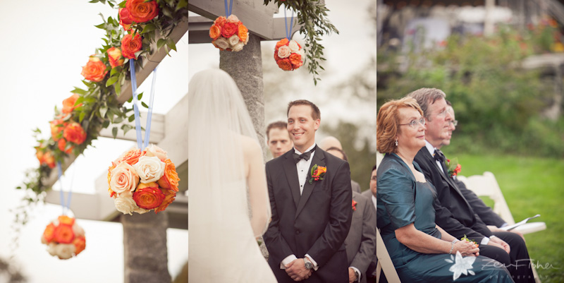 Tyrone Farm Wedding, Wedding Ceremony, Wedding Flowers, Bride and groom, Wedding Guests