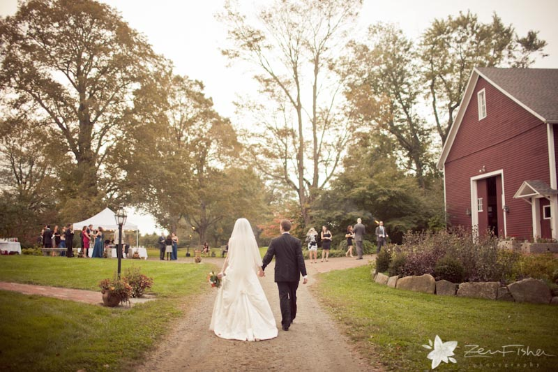 Tyrone Farm Wedding Bride And Groom Portraits Connecticut Weddings