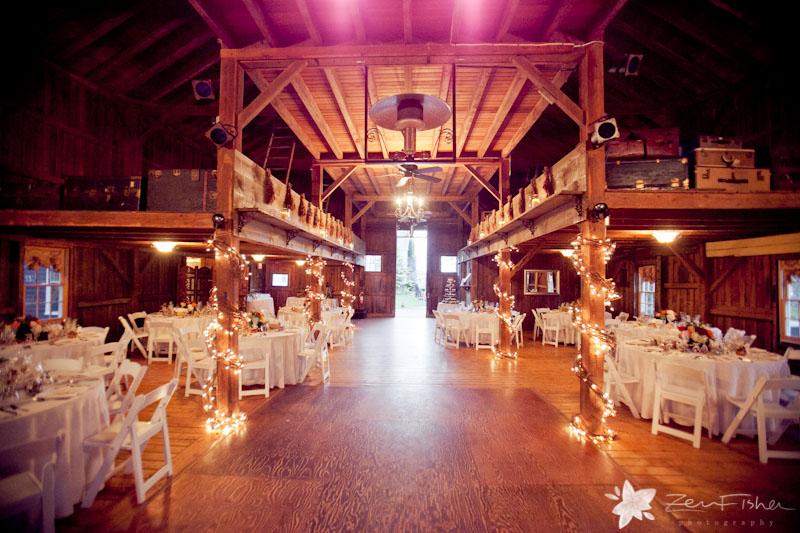 Tyrone Farm Wedding Barn Reception Details Connecticut Weddings