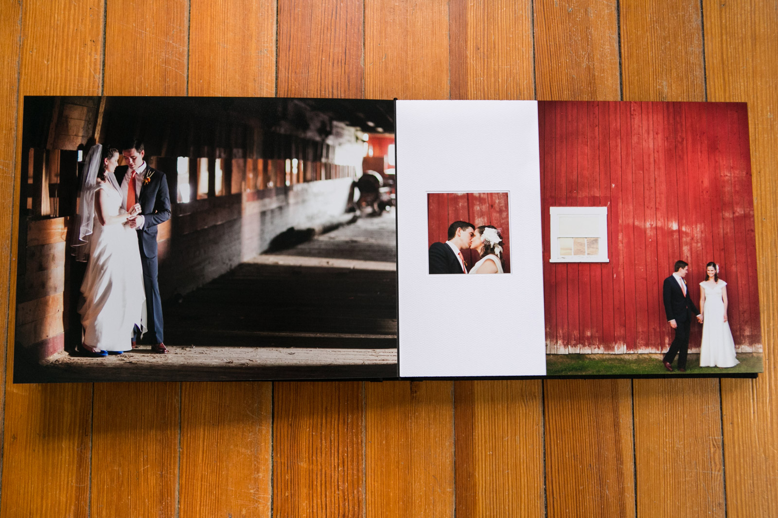 Zev Fisher Photography, Wedding Albums, Wedding Album Design, Matted Wedding Album