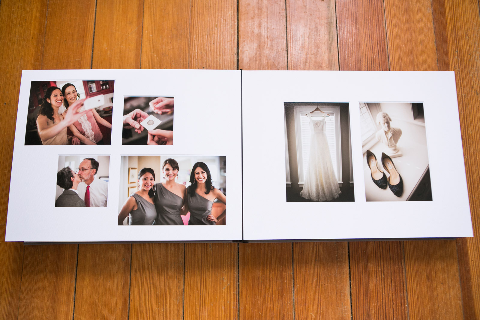 Zev Fisher Photography, Wedding Albums, Wedding Album Design, Matted Wedding Album, Bride & Groom