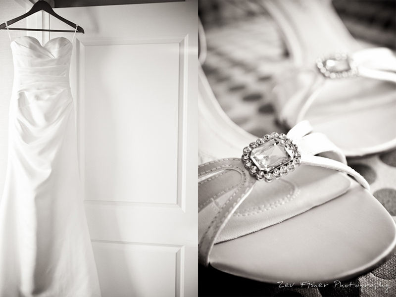 boston wedding photographers, boston bridal, zev fisher photography, wedding gown, bridal shoes