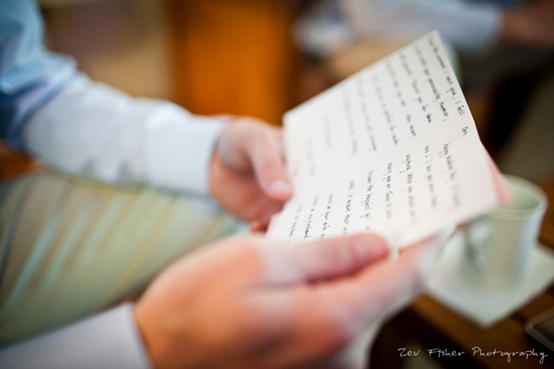boston wedding photographers, boston bridal, zev fisher photography, wedding vows, wedding details