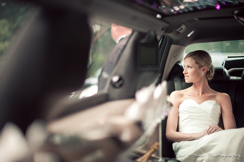 boston bridal, zev fisher photography, bridal portrait, wedding gown, wedding dress, wedding car