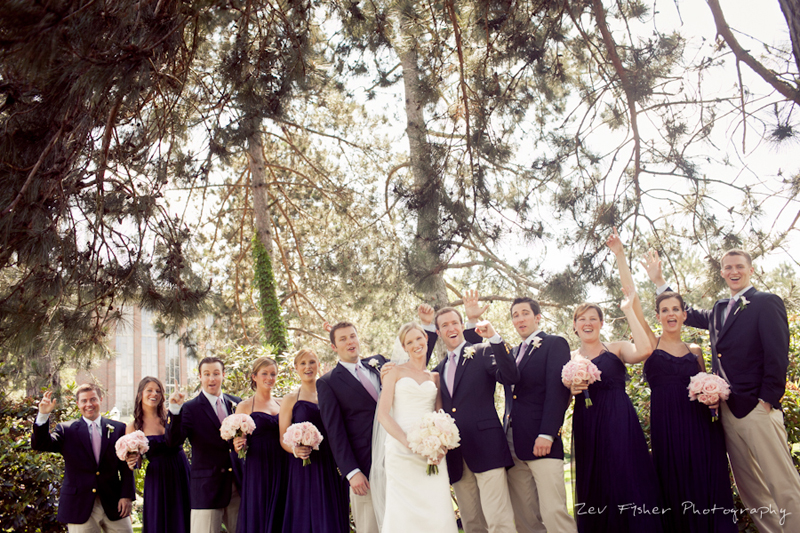 boston wedding photographers, zev fisher photography, bridal party, bride and groom