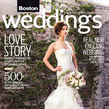 Daniela & Mark <br> Boston Weddings Magaine