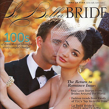 Scott & Talia <br> Published in La Bella Bride